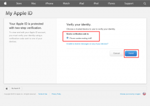 Two-Step Authentication for iCloud - dmfswiki